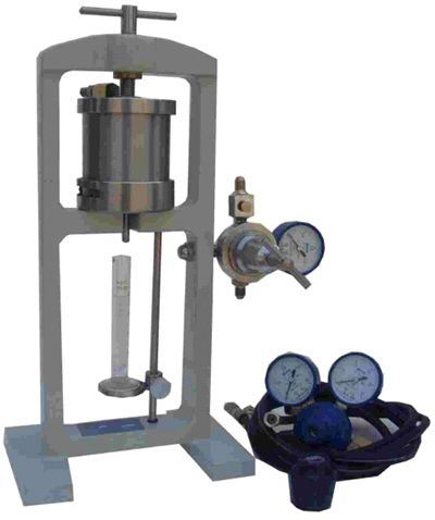 Fluid Loss Testing Apparatus